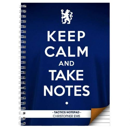 Chelsea Keep Calm A5 Notebook